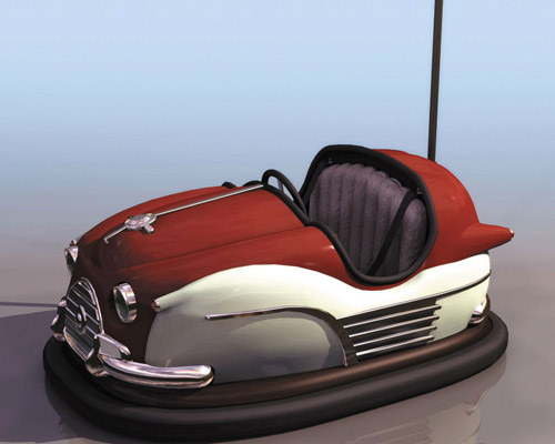 cheap vintage bumper cars for sale