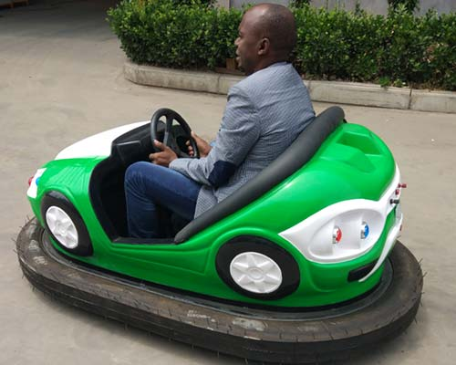 electric operated bumper car rides car working principle