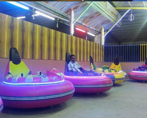 china colorful lights inflatable bumper car factory