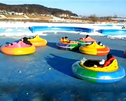 ice skating rink bumper cars supplier