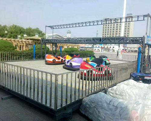 Beston portable bumper cars costs