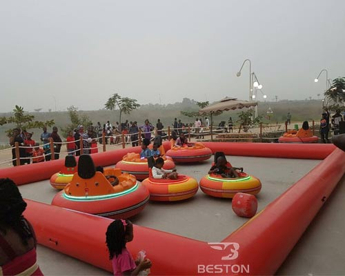inflatable kiddie bumper cars for sale
