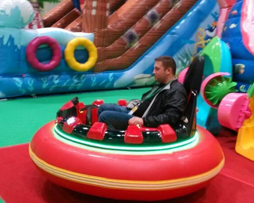 theme park bumper cars prices