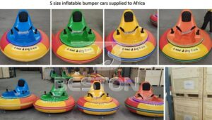 small inflatable bumper car rides manufacturer